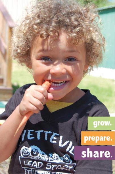 boy eating a carrot