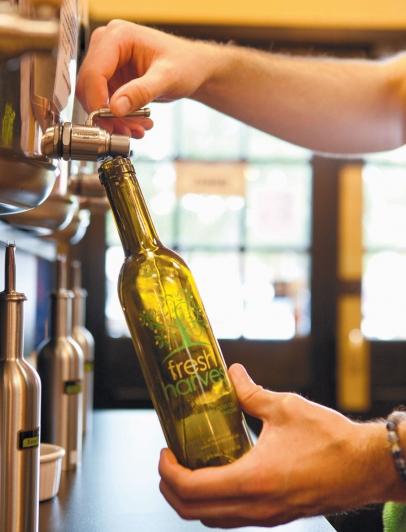 fresh harvest oil bottle