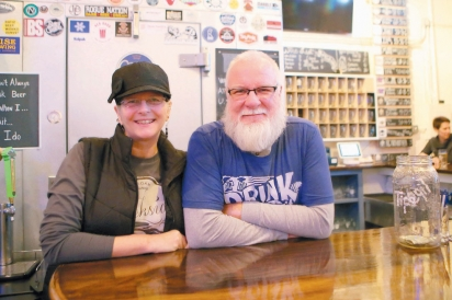 Rhonda and Keith Rutledge own the Creekside Taproom in Siloam Springs