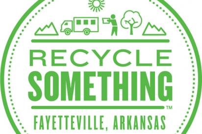 recycle something fayetteville arkansas logo