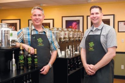 Troy Johnson and Steve Ketchersid created Fresh Harvest