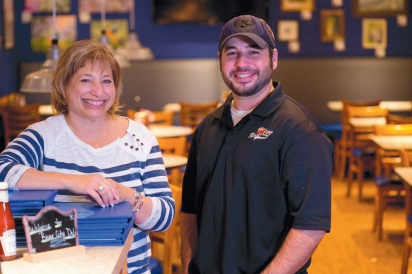 Susan Tucker and Jason Haid, owner and executive chef/owner of River City Deli on Rogers Avenue in Fort Smith, AK.