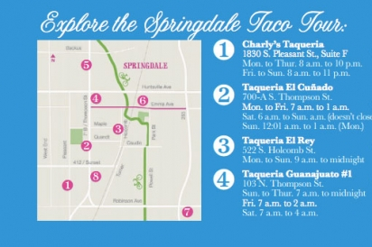 springfield taco tour map