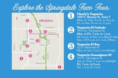 springfield taco tour map