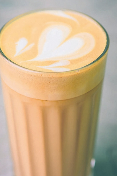 Maple Street latte