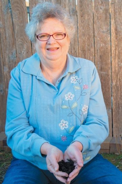 Joyce Starr has been a Washington County master composter since 2012
