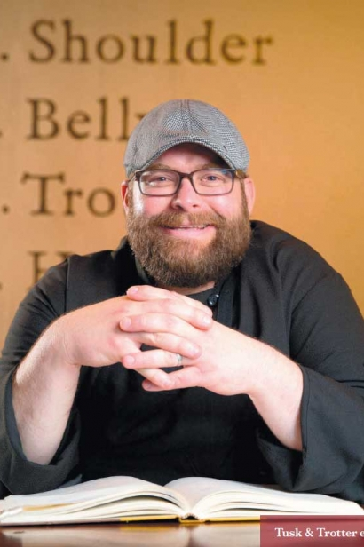 Tusk & Trotter executive chef Rob Nelson