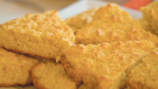 skillet-sizzled cornbread